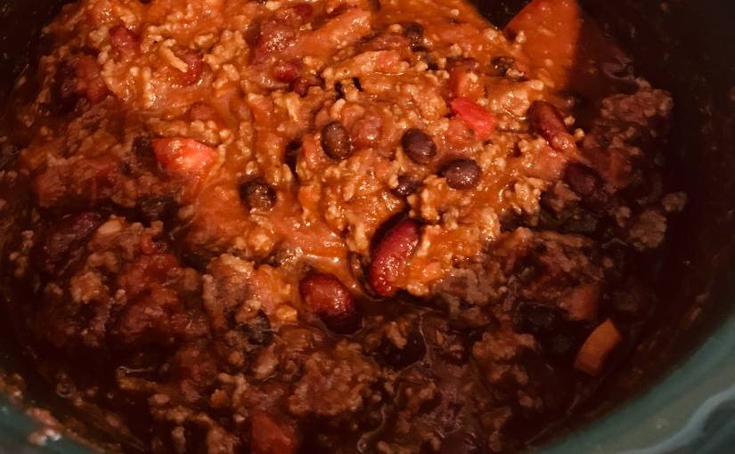 Challenge Friendly Chili